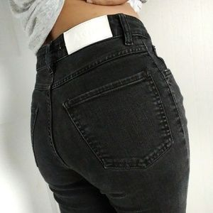 ACNE Needle Wet Cash High Waist Jeans Size 27